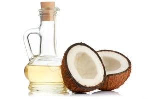 aceite de coco para la caspa